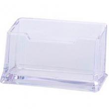 钊盛(ZSSI)ZS-130 透明单格名片座/名片盒/名片夹/名片架