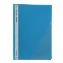 钊盛(ZSSI)ZS-306 简易二孔装订报告夹/透明封面文件夹 12个/包 蓝色