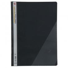 钊盛(ZSSI)ZS-306 简易二孔装订报告夹/透明封面文件夹 12个/包 黑色