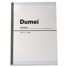 渡美(Dumei)3041 无线装订笔记本/胶装本/记事本 B5-40页 4本装