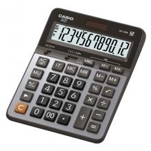 卡西欧(CASIO)GX-120B 商务计算器 超大型机 12位 金属面板/灰色(GX-120S升级款)