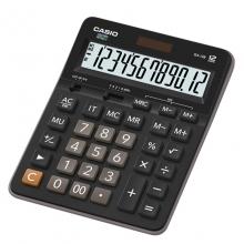 卡西欧(CASIO)GX-12B 商务计算器 超大型机 12位 塑料面板/黑色(GX-12S升级款)
