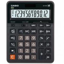 卡西欧(CASIO)GX-14B 商务计算器 14位 塑料面板/黑色(GX-14S升级款)