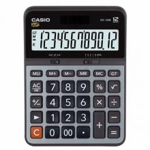 卡西欧(CASIO)DX-120B 商务计算器 大型机 12位 金属面板/灰色(DX-120S升级款)