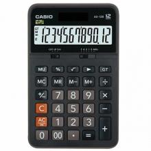 卡西欧(CASIO)AX-12B 商务计算器 中型机 12位 塑料面板/黑色(AX-12S升级款)