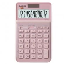卡西欧(CASIO)JW-200SC-PK stylish时尚摇头式计算器 12位 璨光粉