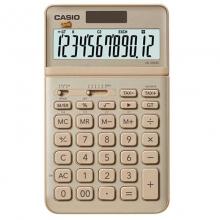 卡西欧(CASIO)JW-200SC-GD stylish时尚摇头式计算器 12位 锋芒金
