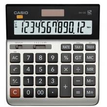 卡西欧(CASIO)DH-120 金属面板宽屏商务计算器 12位 灰色