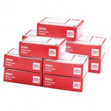 得力(deli)0050 银色大号回形针/曲别针 50mm 100枚/盒 10盒装