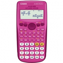 卡西欧(CASIO)FX-82ES PLUS A 函数科学计算器 英文版 玫红