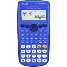卡西欧(CASIO)FX-82ES PLUS A 函数科学计算器 英文版 蓝色