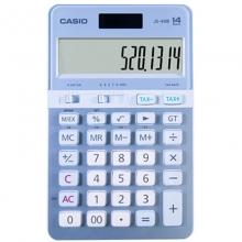 卡西欧(CASIO)JS-40B 蓝颜知己办公计算器 14位 蓝色
