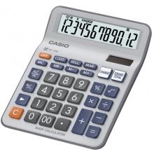 卡西欧(CASIO)DC-12M  多功能商务财务计算器/找零机/高识别度大键盘/找零功能 12位 大号 灰白色