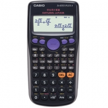 卡西欧(CASIO)FX-82ES PLUS A 函数科学计算器 英文版 黑色