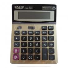 卡西欧(Casio)DM-1200V 办公桌面计算器 12位 灰色
