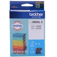 兄弟(brother)LC695XL C 青色墨盒(适用于兄弟MFC-J2720 MFC-J2320)