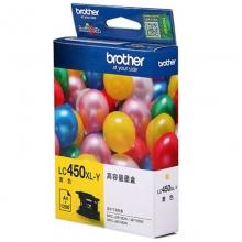 兄弟(brother)LC450XL Y 黄色墨盒(适用于MFC-J6710DW J5910DW J6910DW )