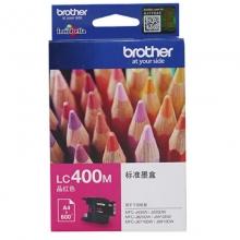 兄弟(brother)LC400M 品红色墨盒(适用MFC-J430W J825DW J625DW 6710DW 6910DW)