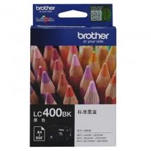 兄弟(brother)LC400BK 黑色墨盒(适用MFC-J430W J825DW J625DW 6710DW 6910DW)
