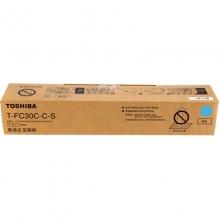 东芝(TOSHIBA)T-FC30C-C-S 青色低容碳粉 70g(适用e-STUDIO 2051c 2551c 2050c 2550c)