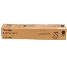 东芝(TOSHIBA)T-FC30C-K-S 黑色低容碳粉 125g(适用e-STUDIO 2051c 2551c 2050c 2550c)