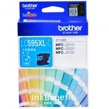 兄弟(brother)LC595XL C 高容青色墨盒(适用机型兄弟MFC-J2510 MFC-J3520 MFC-J3720)