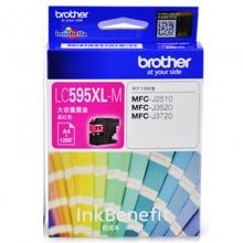 兄弟(brother)LC595XL M 高容品红色墨盒(适用机型兄弟MFC-J2510 MFC-J3520 MFC-J3720)