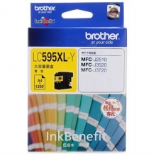 兄弟(brother)LC595XL Y 高容黄色墨盒(适用机型兄弟MFC-J2510 MFC-J3520 MFC-J3720)