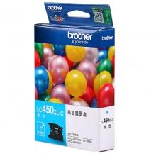 兄弟(brother)LC450XL C 青色墨盒(适用于MFC-J6710DW J5910DW J6910DW )
