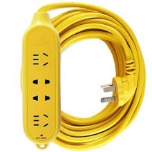 公牛(BULL)GN-C5 工程摔不烂电源插座/接线板/插线板 四位无控 15米