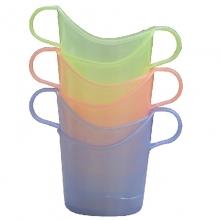 国产 塑料杯托 6只装 颜色随机