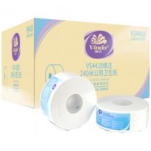 维达(Vinda)VS4418 公用大盘纸大卷纸卫生纸 2层*240米*12卷/箱