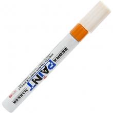 斑马(ZEBRA)MOP-200M PAINT 油漆笔/补漆笔/记号笔/签名签到笔(橙色)