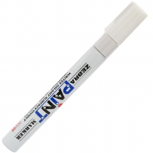 斑马(ZEBRA)MOP-200M PAINT 油漆笔/补漆笔/记号笔/签名签到笔(白色)