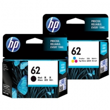 惠普(HP)62号 黑彩套装 墨盒(适用于 Officejet200 258 5540 5542 5640 5740)