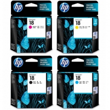 惠普(HP)18号 黑彩四色墨盒(适用 OfficejetL7380,L7580,L7590,ProK5300,K5400dn,K8600)