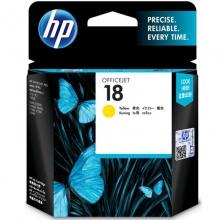 惠普(HP)C4939A 18号 黄色墨盒(适用 OfficejetL7380 L7580 L7590 ProK5300 K5400dn K8600)