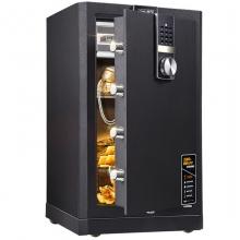 得力(deli) 4088 APP云智能电子密码保管箱WIFI办公保险柜 高72cm 深灰色