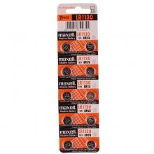 麦克赛尔(Maxell)LR1130/189 纽扣电池 1.5V万胜电池 LR54 AG10 十粒装