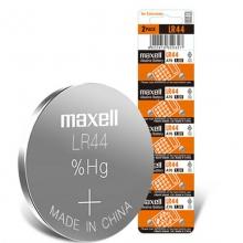 麦克赛尔(Maxell)LR44/AG13/A76/L1154/357A 纽扣电池 1.5V万胜电池 10粒装