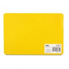 得力(deli)9351 复写垫板 复写板 写字垫板 C6(370*260mm)颜色随机