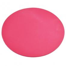 雪奥(XUEAO)0524 圆形高级印章垫 红色 直径160mm 厚度3mm