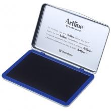 旗牌(Artline)EHJ-4 水性印台印泥 143*87mm 特大号 蓝色