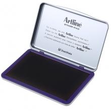 旗牌(Artline)EHJ-4 水性印台印泥 143*87mm 特大号 黑色