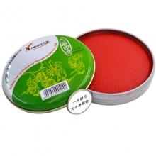 雪奥(XUEAO)0515 工艺印泥/朱砂印泥 6# 75mm 红色