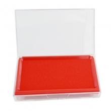 雪奥(XUEAO)0532 透明方形原子印台  137*87mm 红色
